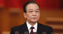 温家宝:2012年GDP增速调低