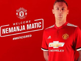 曼联官宣马蒂奇加盟签3年转会费4000万镑