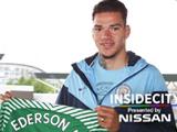曼城签下本菲卡门将埃德森转会费达4000万欧
