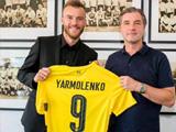 多特官宣亚尔莫连科加盟转会费2500万欧