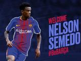 巴萨正式签下塞梅多转会费为3000万欧元