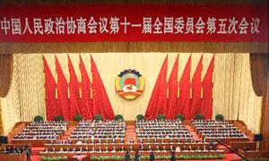 全国政协十一届五次会议开幕会