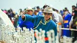 内蒙古成吉思汗陵举行年度规模最大祭祀活动