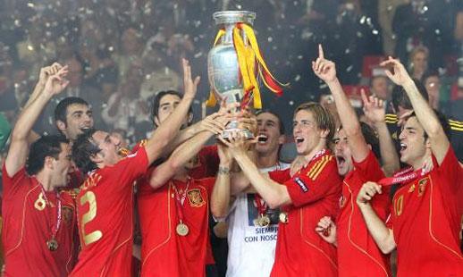 2008年奥地利瑞士欧洲杯冠军:西班牙