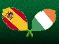 欧洲杯C组-西班牙VS爱尔兰全场