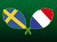 欧洲杯D组-瑞典VS法国全场