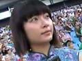 同济大学女生狂追舍瓦 不远万里观欧洲杯