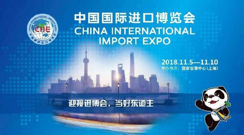 首页中国国际进口博览会宣传画