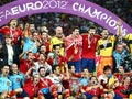2012欧洲杯赛后颁奖仪式