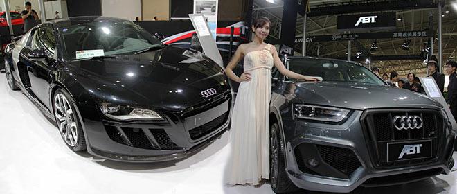 2012改装展ABT发布R8和Q3改装车
