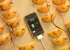 2380瓣橙子为iphone充电