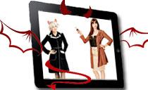 穿普拉达的iPad
