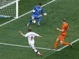 欧洲杯-小组赛-荷兰0-1丹麦精华