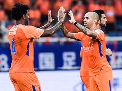 足协杯鲁能3-0恒丰晋级战一方 刘军帅吉尔破门