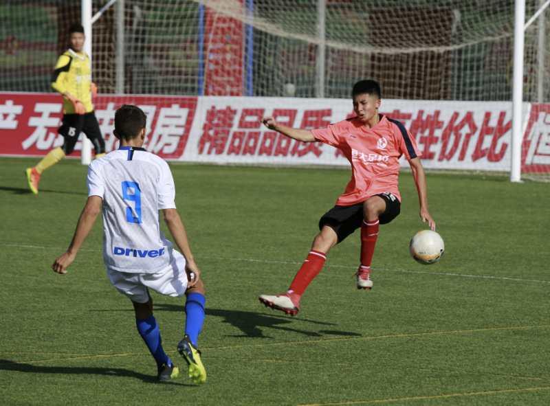 【U15】两队后防表现出色 U15恒大0-0国际米兰