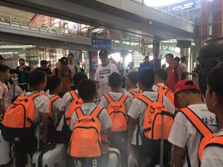 敢梦少年落地北京 PP体育世界杯训练营圆满结束!