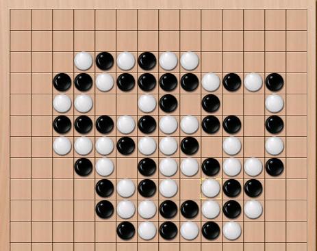 五子棋是一种两人对弈的纯策略型棋类游戏图片