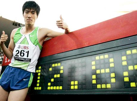 刘翔2006年洛桑破纪录