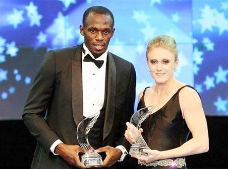 博尔特和佩尔森荣膺国际田联最佳运动员