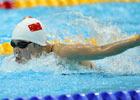 400米混合泳叶诗文劈波斩浪