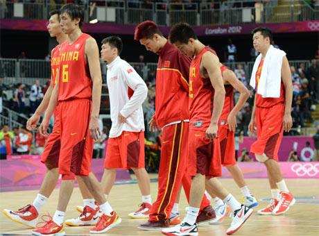 再见老男孩们 再见中国男篮