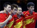 【金牌战报】国乒男团绝对优势轻松卫冕