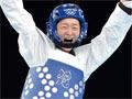 【金牌战报】吴静钰卫冕跆拳道49公斤级