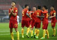 首胜!国足1:0韩国