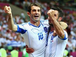希腊1-0俄罗斯精华