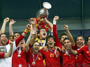 西班牙4-0意大利全场精华