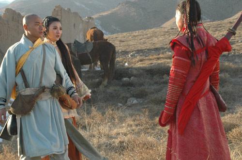 《少林寺传奇》全国收视第二图片