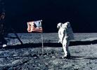 人类首次登月原始影像胶片