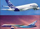 波音787空中大战空客A380