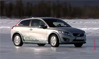 沃尔沃C30电动车寒冬测试