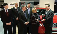 沃尔沃XC60获2010年度国际卡车奖