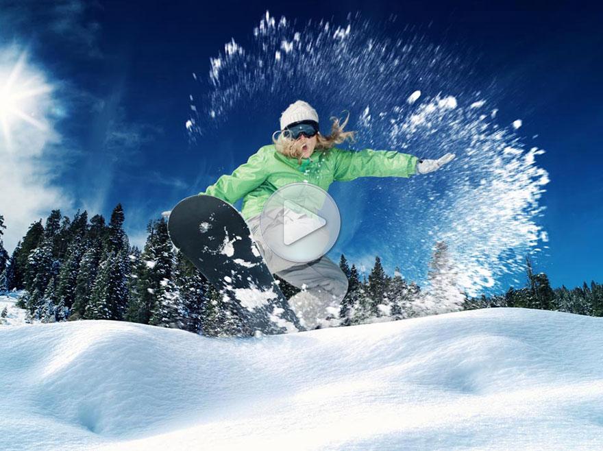 疯狂滑雪大赛