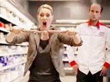 屌丝女王在超市大爆发