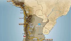 2012年达喀尔拉力赛赛程详解