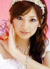 日系美女北川景子的粉嫩桃花妆