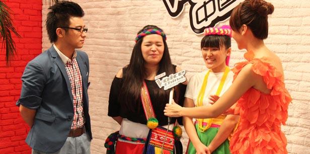 阿蜜丝女孩讲述参加中国好声音心情