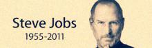 乔布斯去世 终年56岁