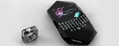 会读心术的新概念手机 黑莓Empathy